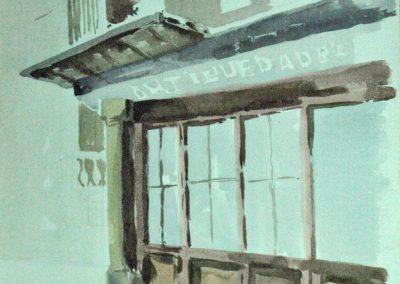 1976 Estudi Antiguedades Barcelona-Mon-52x65cm-watercolors copia