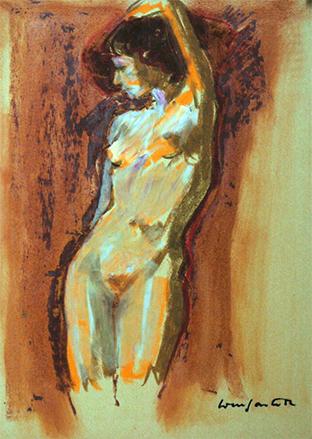 1982 sketch#022-25x32cm-wax