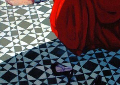 1984 Mosaic i sabates-73x195 cm - Acrylic canvas