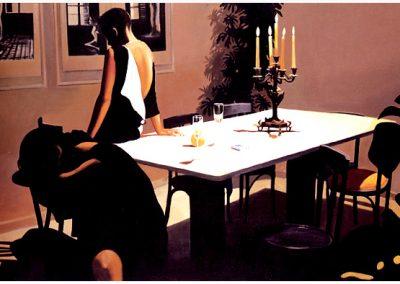 1987 Sunday midnight-51x77 - acrylic canvas