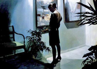 1988 Break of day#2-51x77 -acrylic on canvas