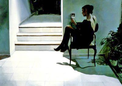 1988 Break of day#7-35x46 - acrylic canvas