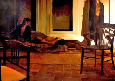 1989 Tiepolo #16-77x77 - acrylic canvas
