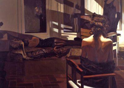 1989 Tiepolo#17-76x762 - acrylic on canvas