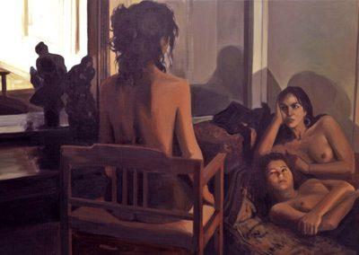 1989 Tiepolo#21-39x25 - acrylic canvas