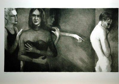 1990 Bella i Cobard-62x35cm-stone lithograph