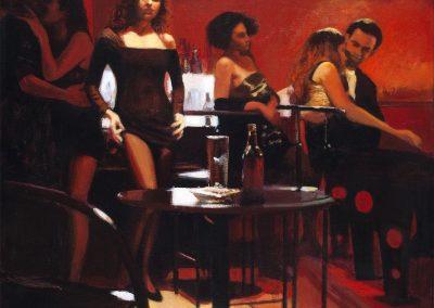 1991-92 Rapto del hombre Sn-46x55 cm - acrilyc canvas
