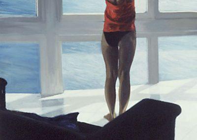 1992 Piernas 68 x98 cm - acrilyc canvas