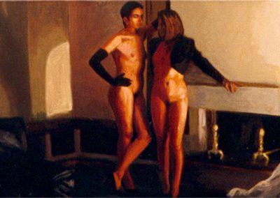 1994 Friday night- Y tu no lo has soñado 73x27 cm - acrilyc canvas