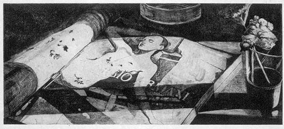 2000 El alma tiene-74x39cm-etching