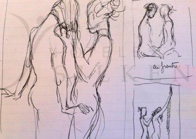 2017 pen sketch03