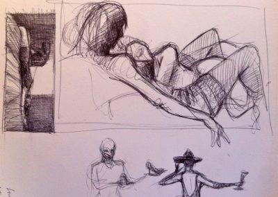 2017 pen sketch04