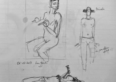 2017 pen sketch05