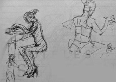 2017 pen sketch06