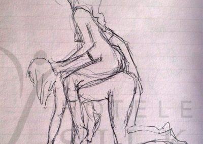 2017 pen sketch08